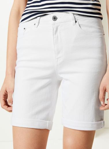 Marks & Spencer Şort Beyaz